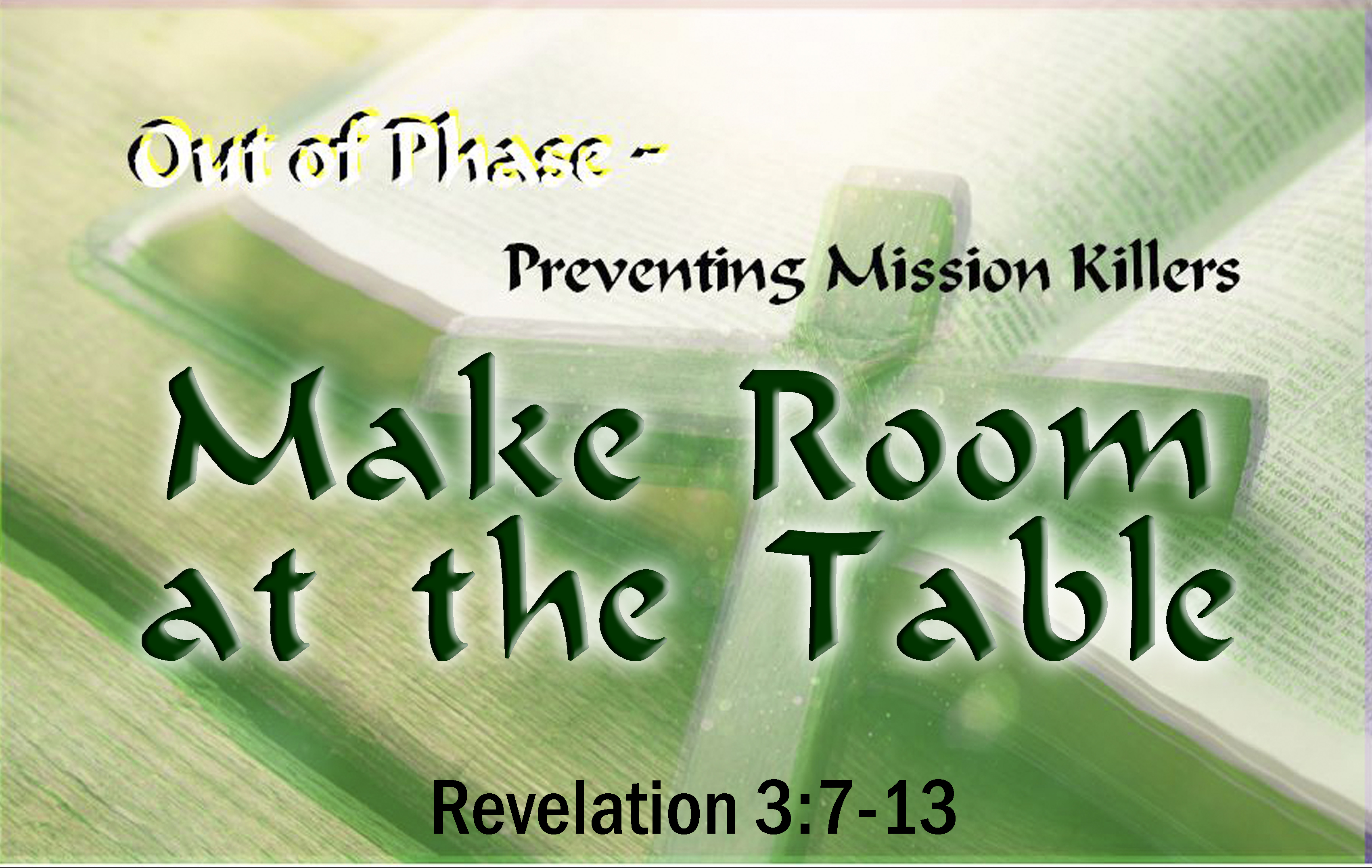 Make Room at the Table