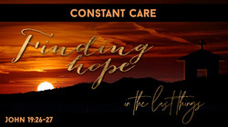 Finding hope - Constant copy