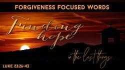 Finding hope - Forgiveness (1)