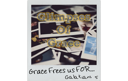 Grace Frees Us FOR
