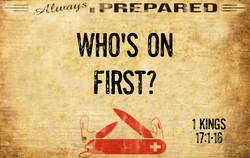 Always Prepared 5 - Who's on First