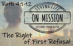 The Right of First Refusal