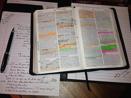 Sermon Worksheet