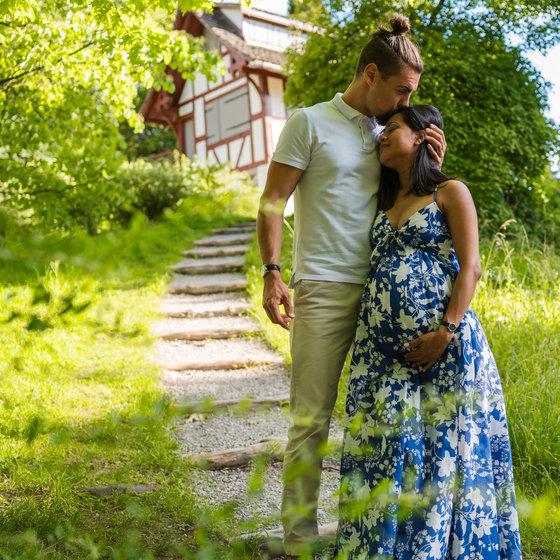 Zurich Winterthur Maternity Fotoshoot Schwangerschaftsshooting