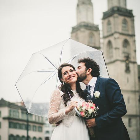 Hochzeitsreportage in Zürich, Ainhoa & Martin