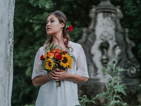 Boho Bride Shooting in Zürich Enge