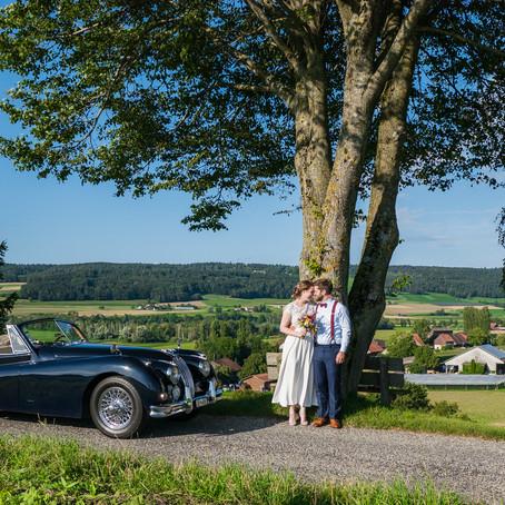Hochzeitsreportage in Buch bei Frauenfeld, Sabine & Daniel
