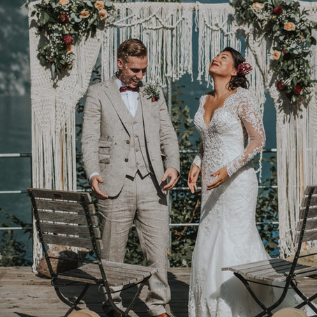 Hochzeitsreportage in Murg am Walensee, Catalina & Sebastian