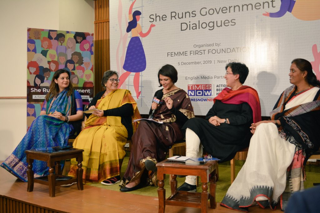 She Runs Government Launch Event