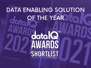 """DATITUDE SHORTLISTED AS A FINALIST IN DATAIQ AWARDS - """"DATA ENABLING SOLUTION OF THE YEAR"""""""
