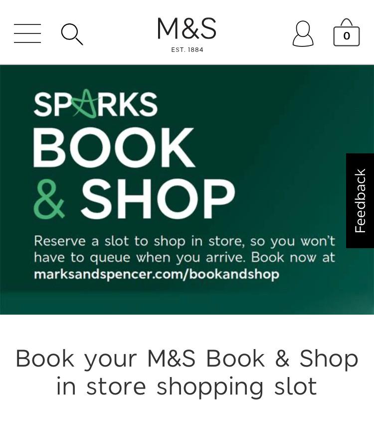 Image of Marks & Spencer's Book & Shop app