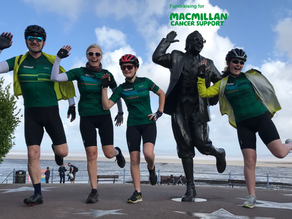 CHARITY CYCLE CHALLENGE FOR MACMILLAN CANCER SUPPORT