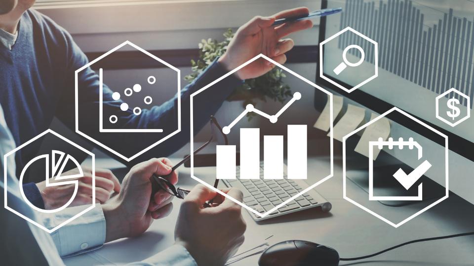Visual of data analytics