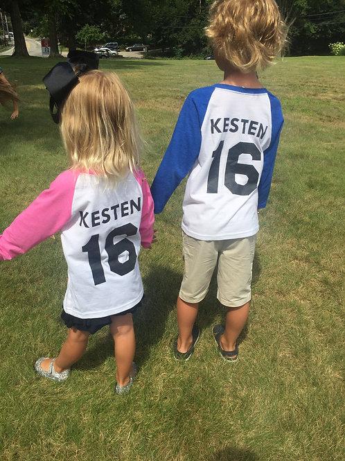 Kids Baseball Tees