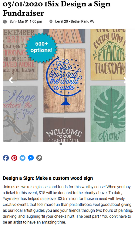 DESIGN A SIGN WITH 1SIX