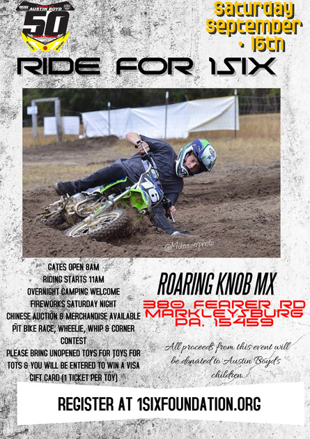 COME ON OUT & RIDE FOR A CAUSE