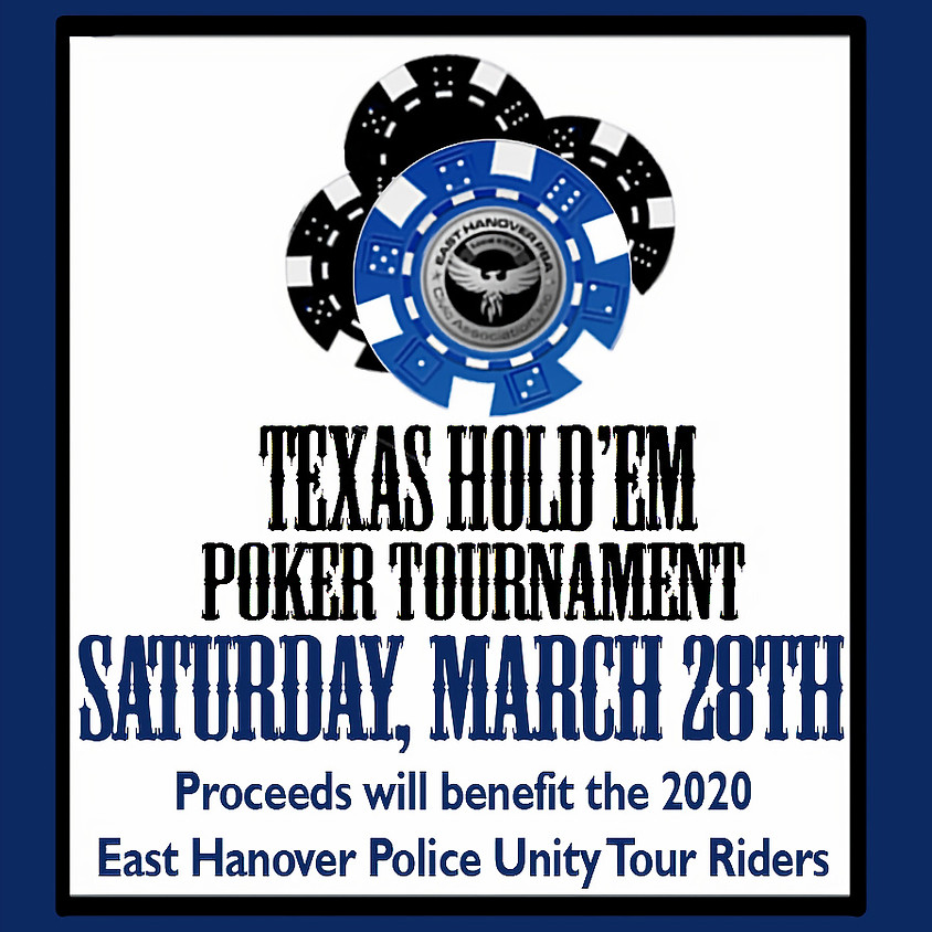 East Hanover Police Unity Tour Riders - Texas Hold'em