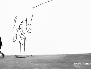 ¿Cómo lineas, formas y sombras afectan la percepción visual consciente?
