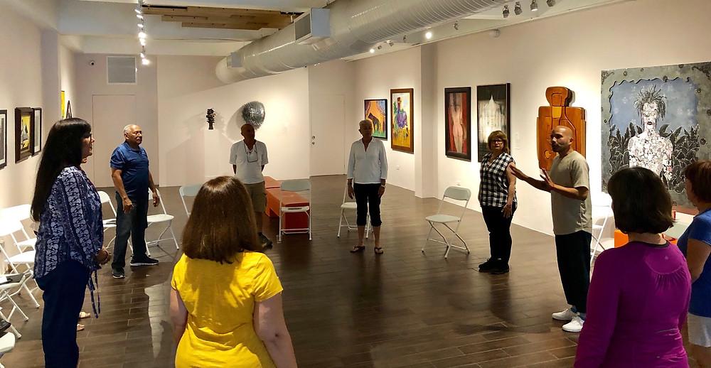 Programa dedicado a atender las necesidades espirituales de adultos y adultos mayores a través del arte.
