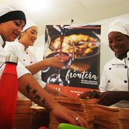 Chefs na escola General Flores da Cunha
