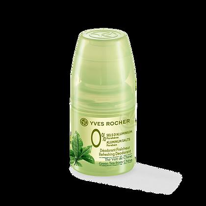 Déodorant Fraicheur Thé vert de Chine 0% Sels d-Aluminium - 50 ml