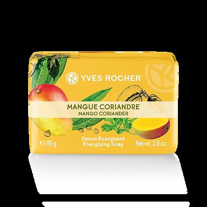 Savon Energisant Mangue Coriandre - 80gr