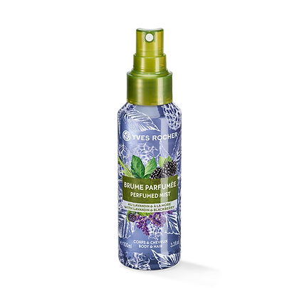 Brume Parfumée Corps & Cheveux Lavandin Mûre - 100 ml