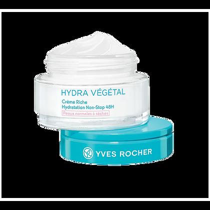 Crème Riche Hydratation Non-Stop 48H - Peaux normales à sèches 50 ml