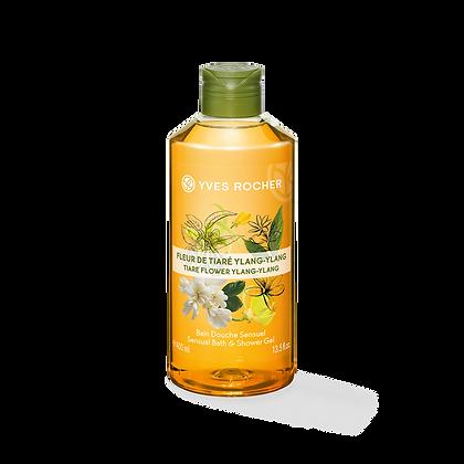 Bain Douche Sensuel Fleur de Tiaré Ylang-Ylang - 400ml