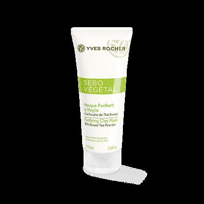 Masque Purifiant à l'Argile Peaux Mixtes à Grasses - 75 ml