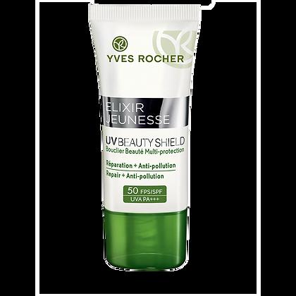 UV Beauty Shield* Réparation + Anti-pollution FPS 50 - 30 ml