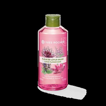 Bain Douche Relaxant Fleur de Lotus Sauge - 400ml