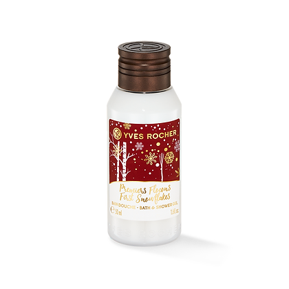 Mini Bain Douche Premiers Flocons - Collection de Noël 50 ml