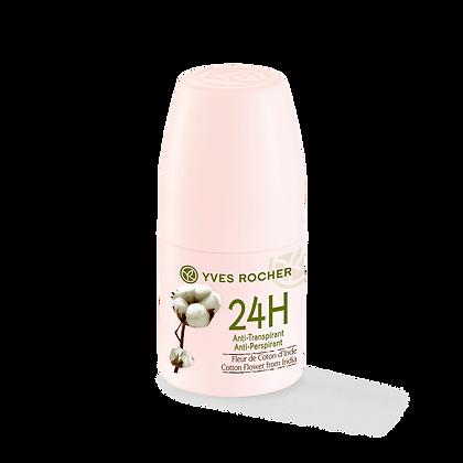 Anti-transpirant 24H Fleur de Coton d'Inde - 50 ml