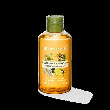 Bain Douche Sensuel Fleur de Tiaré Ylang-Ylang - 200ml