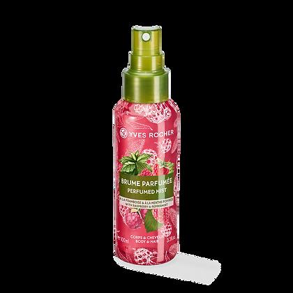 Brume Parfumée Corps & Cheveux Framboise Menthe Poivrée - 100 ml