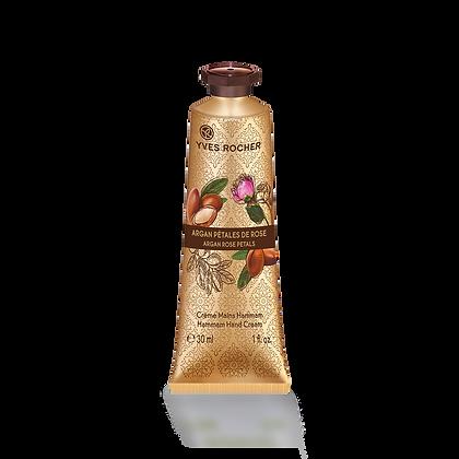Crème Mains Hammam Argan Rose - 30 ml