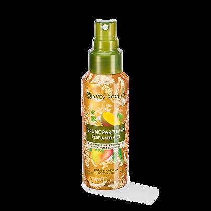 Brume Parfumée Corps & Cheveux Mangue Coriandre - 100 ml