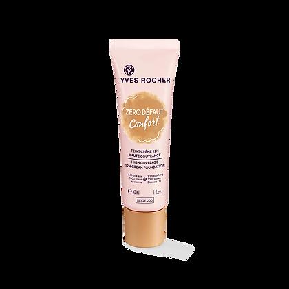 Fond de Teint Crème Haute Couvrance - Zéro Defaut 30 ml