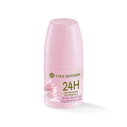 Anti-transpirant 24H Fleur de Lotus du Laos- 50 ml