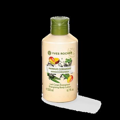 Lait Corps Energisant Mangue Coriandre - 200 ml
