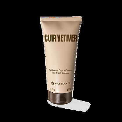 Cuir Vétiver - Shampooing Douche 200ml