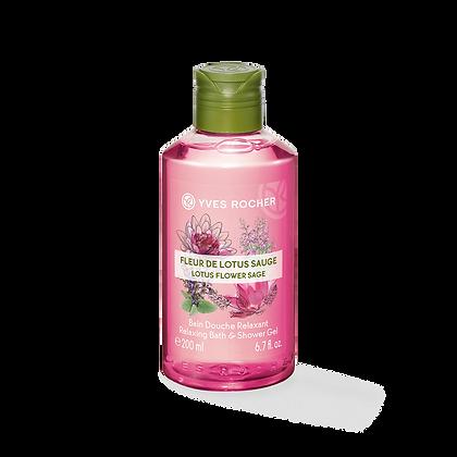 Bain Douche Relaxant Fleur de Lotus Sauge - 200ml