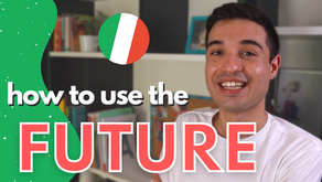 How to use and form the future in Italian