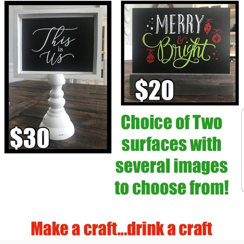 Drink Crafts , Make Crafts