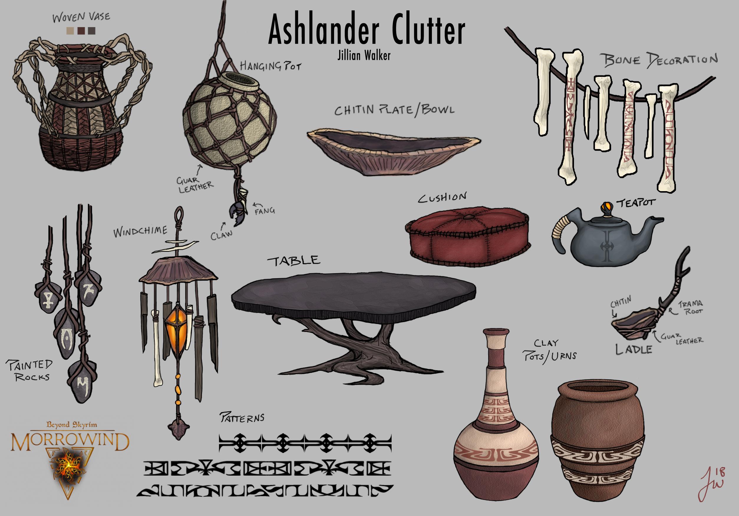 Ashlander Clutter