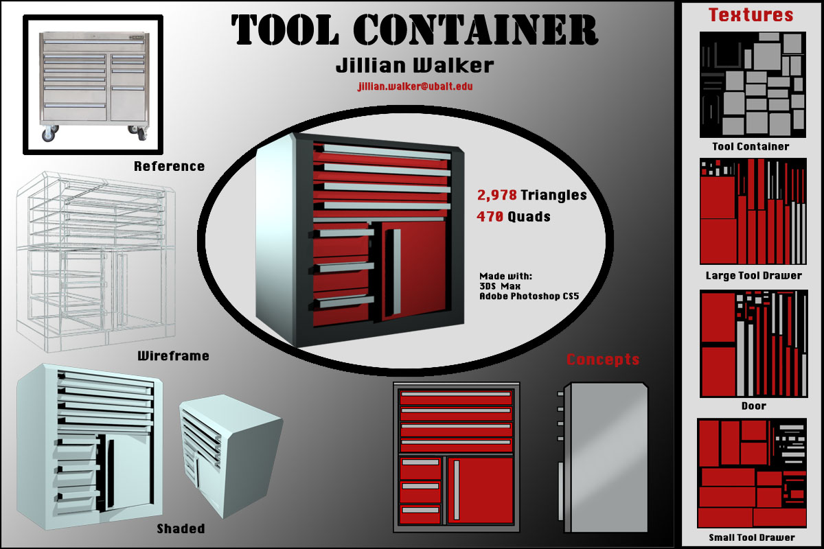 Tool Container Model Sheet
