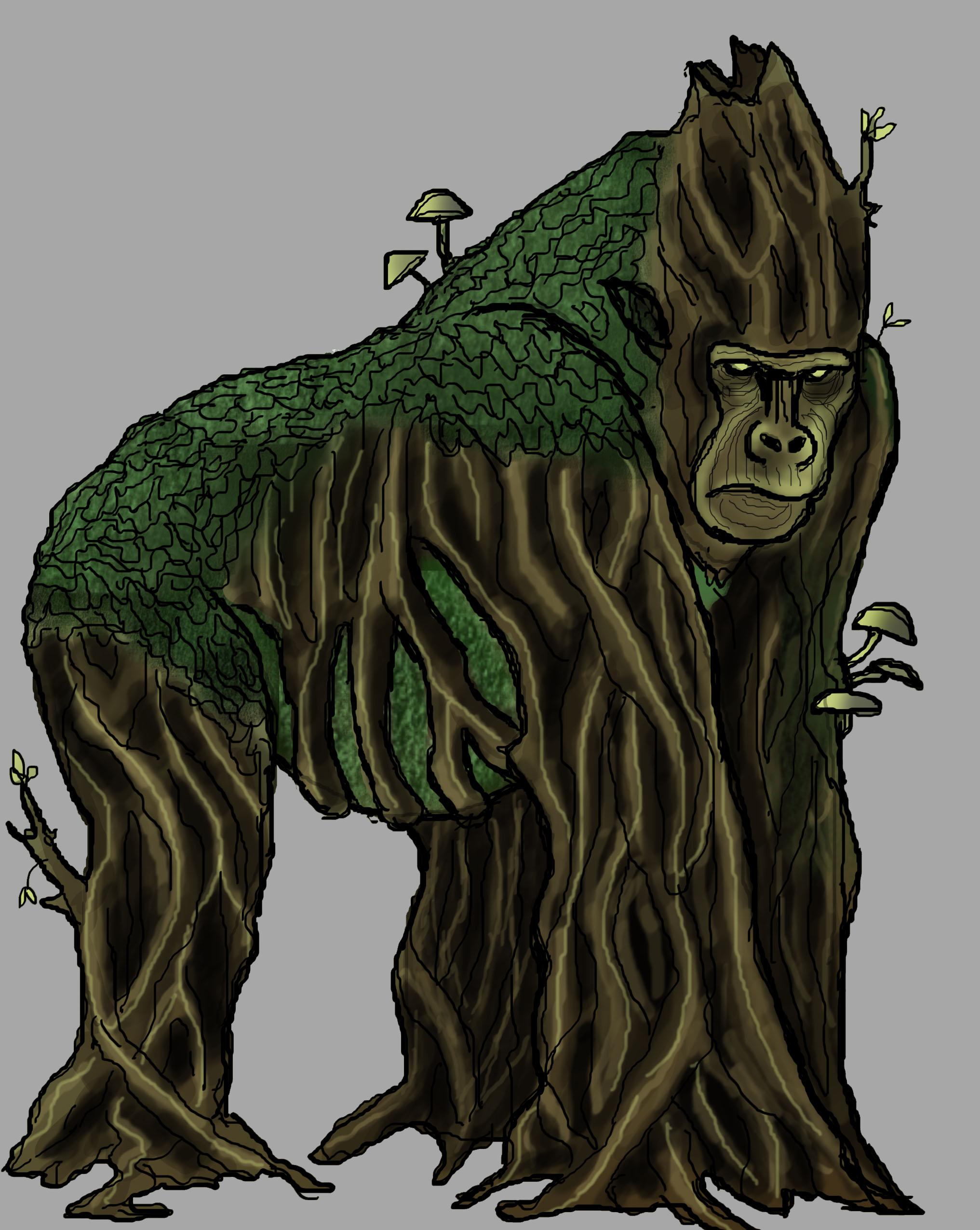 Mossback Gorilla