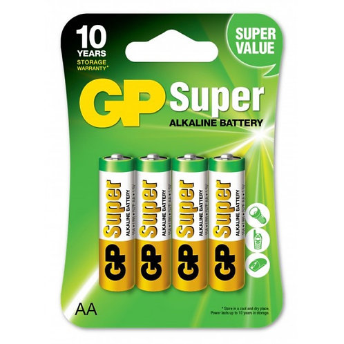 GP  AA  batterier