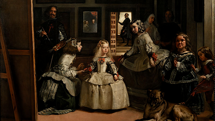 Museu do Prado As Meninas de Velasquez.p